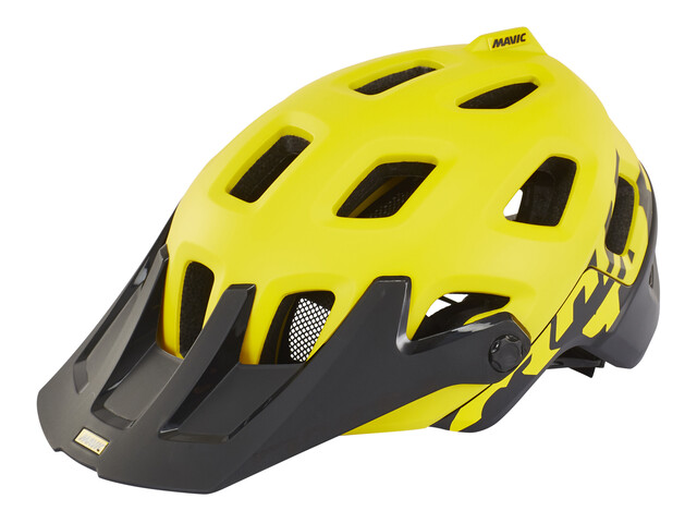 Mavic Crossmax Pro Helmet Yellow Mavic/Black